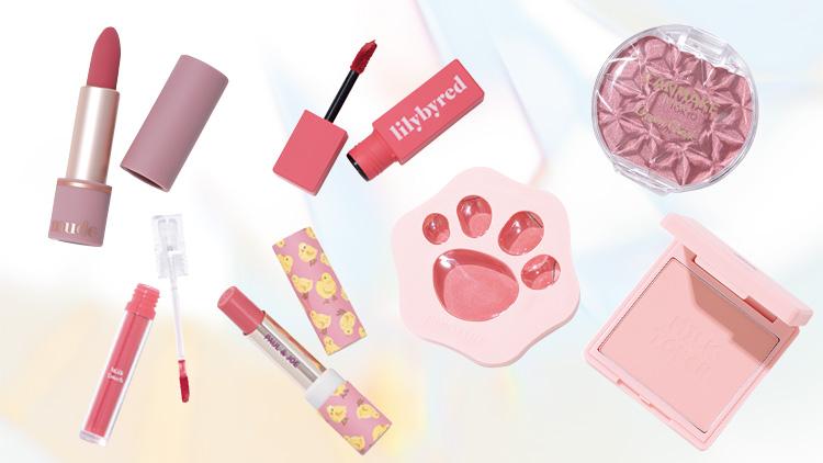 動物パケが可愛い♡ 高発色の「くすみピンクリップ&チーク」が大集結!