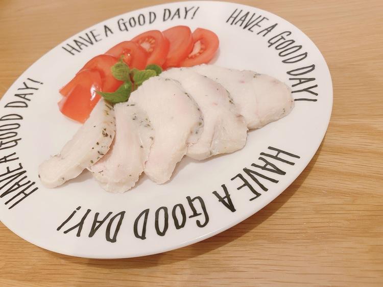 """ちゃんまつ食堂「鶏むね肉のイタリアン""""鶏ハム""""」"""